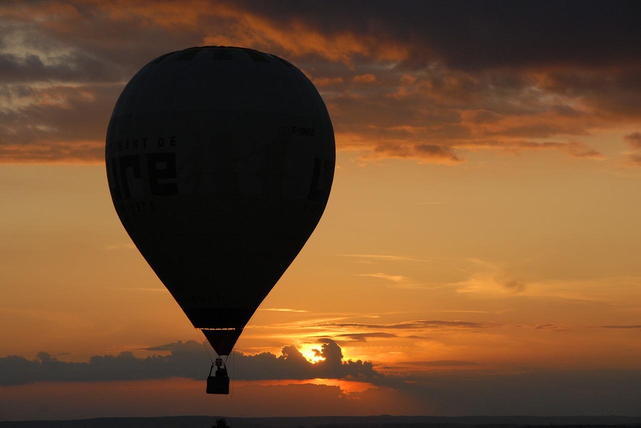 Eine romantische Ballonfahrt