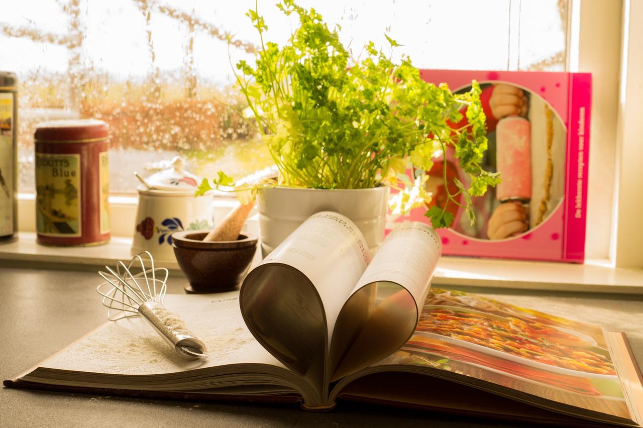 Kochbuch mit Lieblingsrezepten