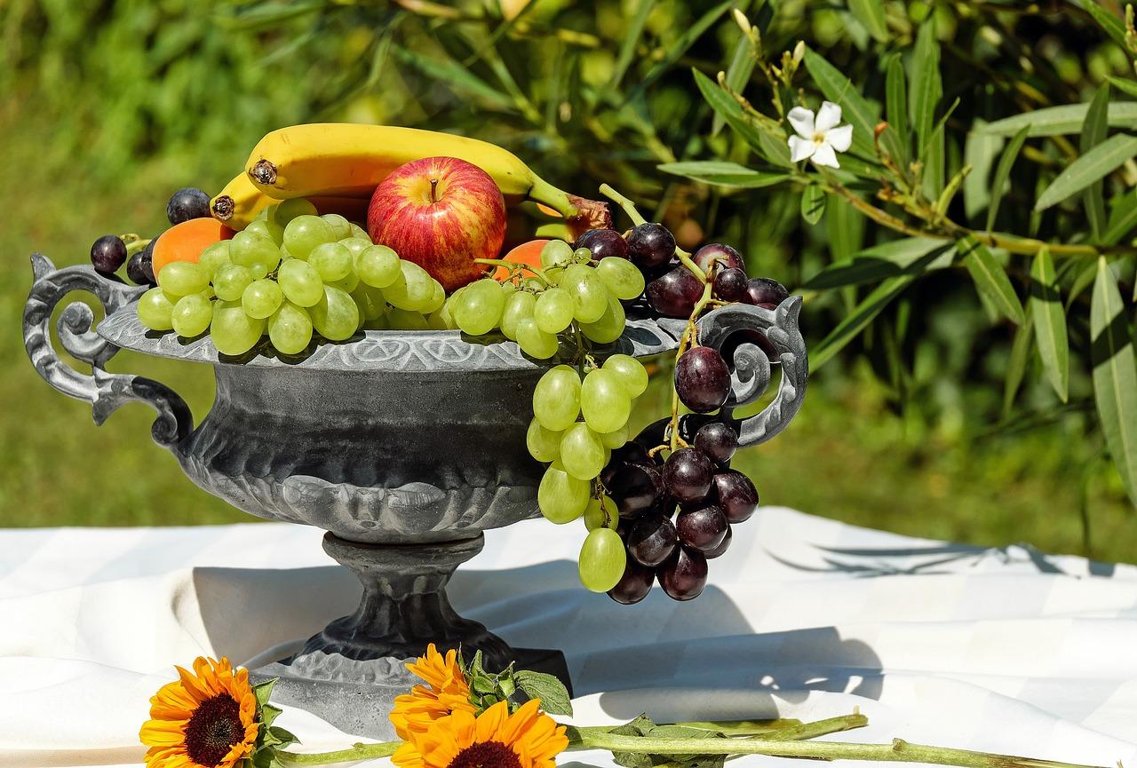 individuelle Obst- und Gemüseschalen