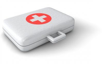Notfalltasche für frisch Vermählte