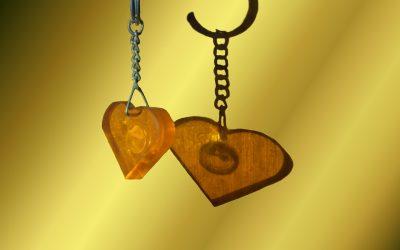 Paar-Schlüsselanhänger